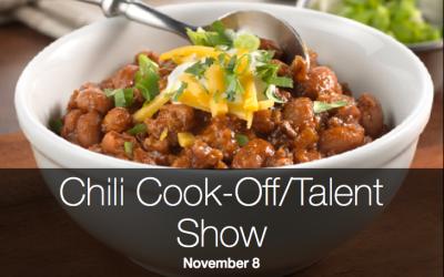 Chili Cook-Off / Talent Show November 8
