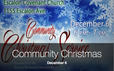Community Christmas Service – December 6