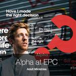Alpha at EPC 2016